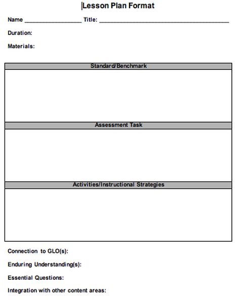 Lesson Plan Template Uk | Lesson Plan Template Download Forest School Lesson Plan Template