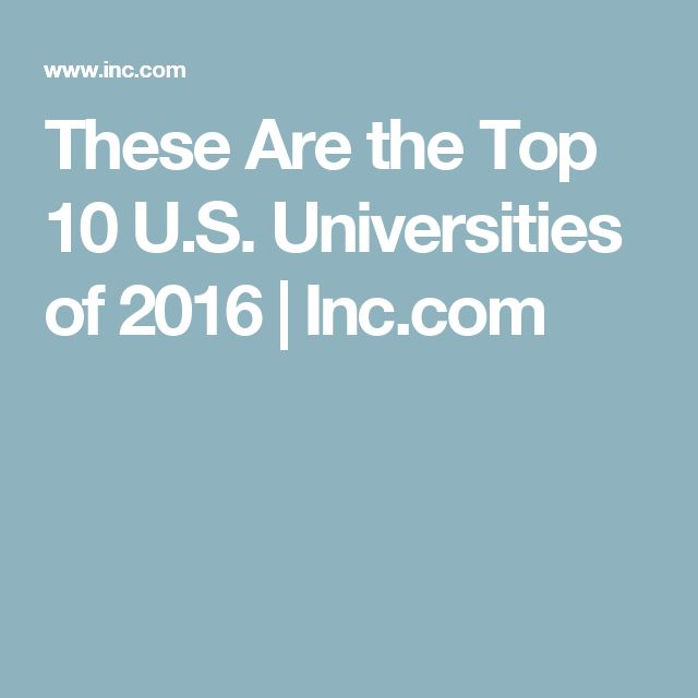 Psychology top 10 colleges in the us