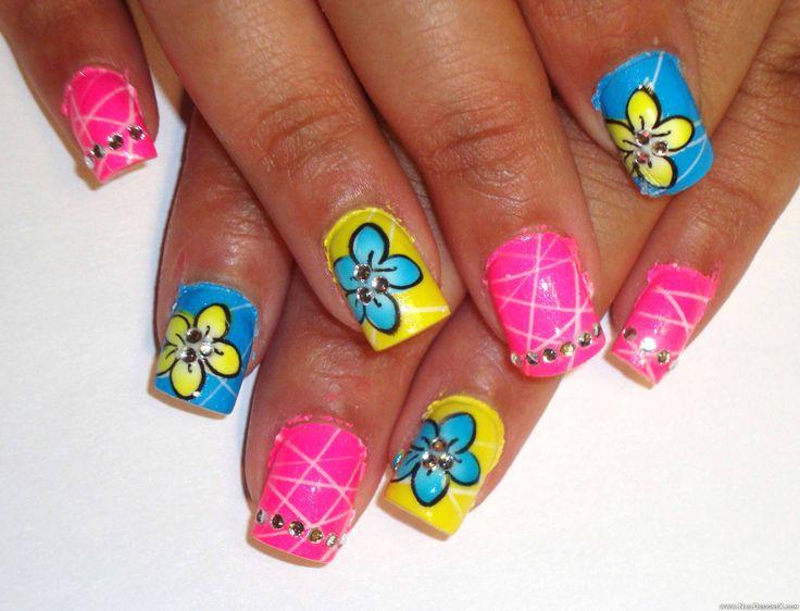 lines 3 nail design