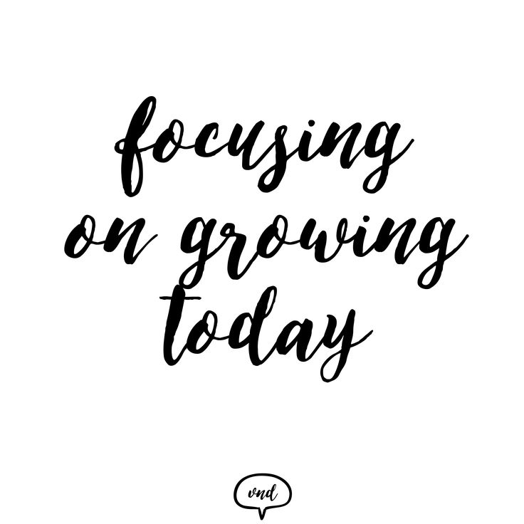 Focusing on growing today!  Visit us on: http://vndesign.hu/