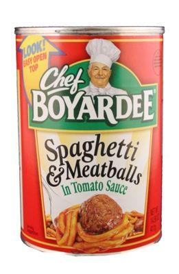 Food ~ ConAgra Foods - Chef Boyardee = Spaghetti & Meatballs