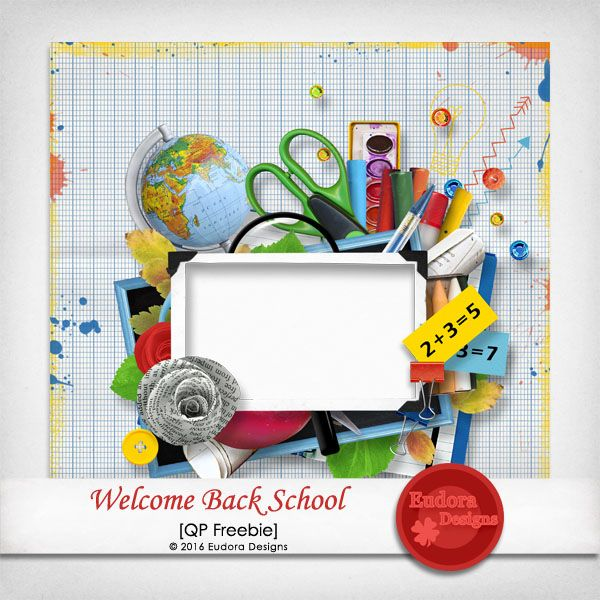Eudora Designs: Welcome Back School QP Freeebie!!!