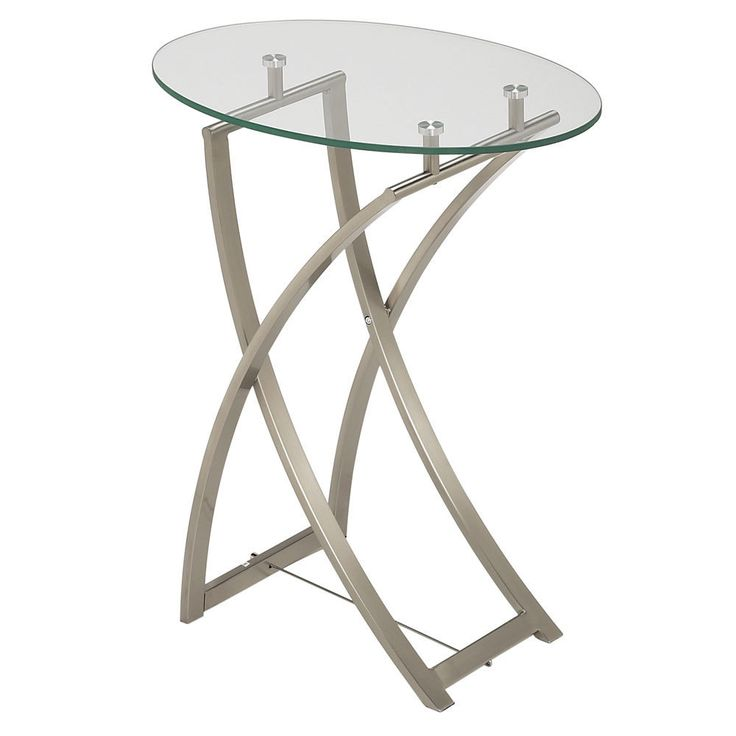 Glass Side End Lamp Coffee Table Lounge Low Occasional: 17 Best Images About Modern Accent Tables On Pinterest