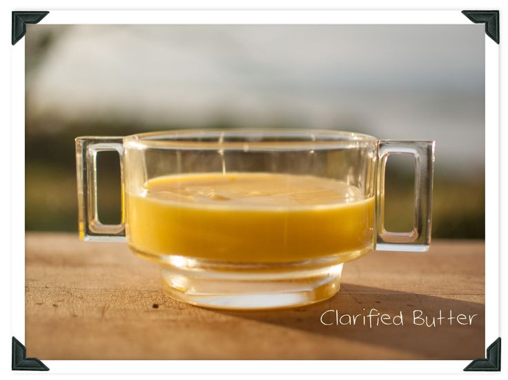 Learn how to make clarified butter, drawn butter or ghee. Whatever you call it - it is utterly butterly!