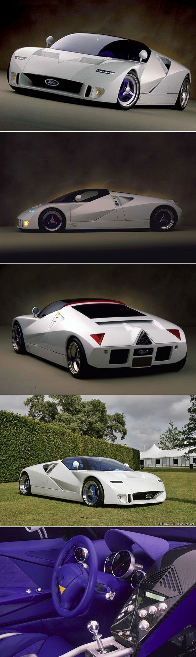 Ford gt90 replica diy ford gt90 replica - Ford Gt90 Is The Mightiest Supercar You Ve Probably Never Heard About Has Quad