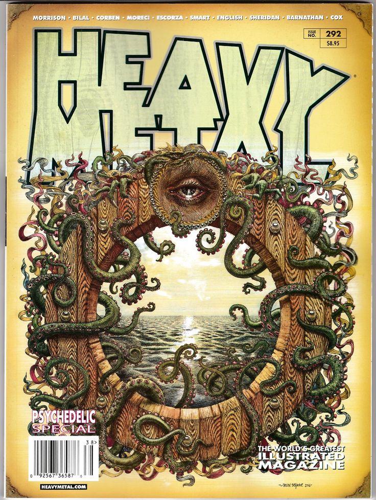 Heavy Metal 292 Psychedelic Special Cvr B (2018) New