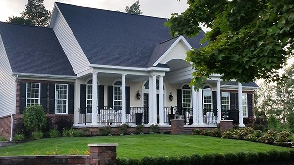 Front Photograph My House Plans House Plans With Photos Southern House Plans