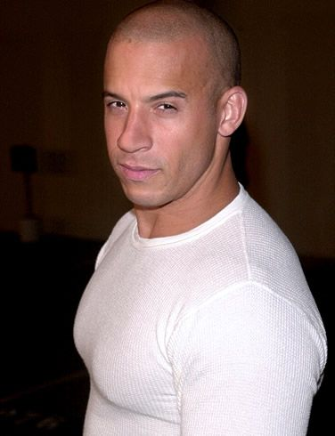 Vin Diesel again...just can't get enough...haha