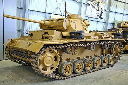 Panzer III Aus L Tank