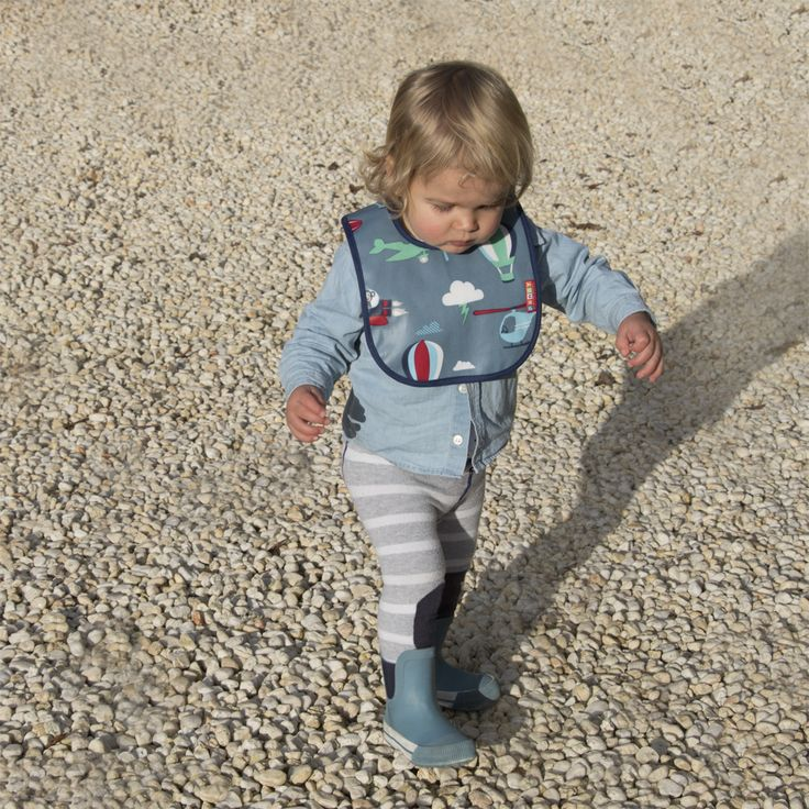 Space monley design Bib and gumboots available online. pennyscallan.com.au pennyscallan.co.nz