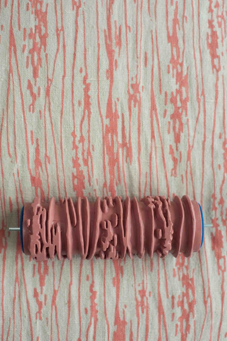 Patterned paint roller... !!