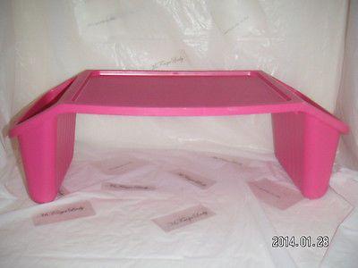 Justb Byou Kid Lap Desk Pink Purple Organizer Tray Storage Activity Table Center