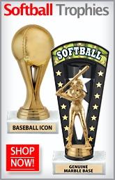 Softball Trophy Ideas