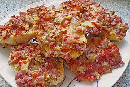 Superschnelle Pizzabrötchen (Rezept mit Bild) von Kaaskop | Chefkoch.de