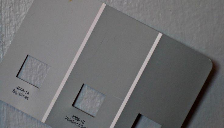 bay waves valspar (game room & future nursery) polished silver valspar (master bedroom) stone ...