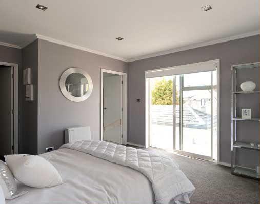 Resene Shady Lady bedroom walls.