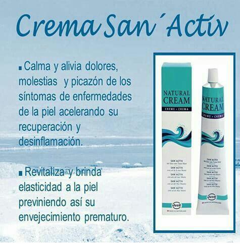 Crema San Activ (a base de sales del Mar Muerto)