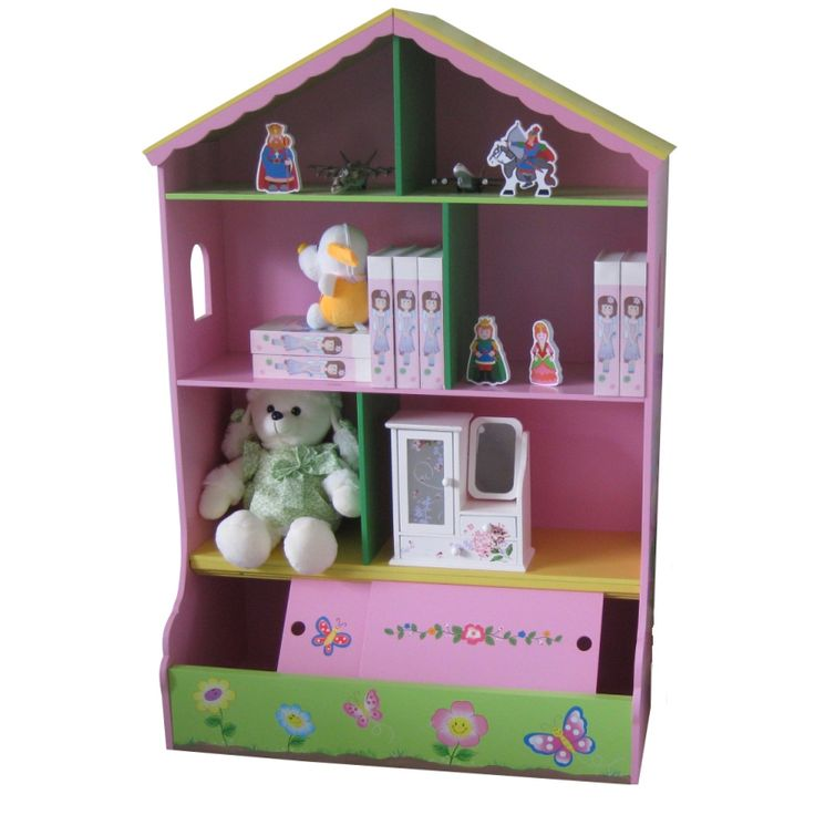 Captivating Little Home Store   Liberty House Toys Fairy Dollhouse With Storage Bin  Base, £79.96