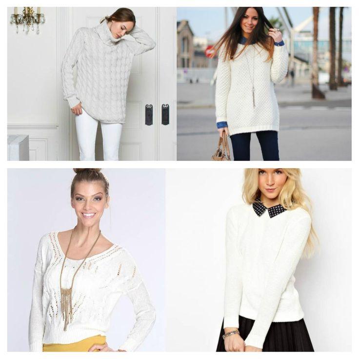 Свитер, джемпер & пуловер: самые модные образы .