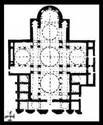 Pianta della basilica di San Marco, Venezia.
