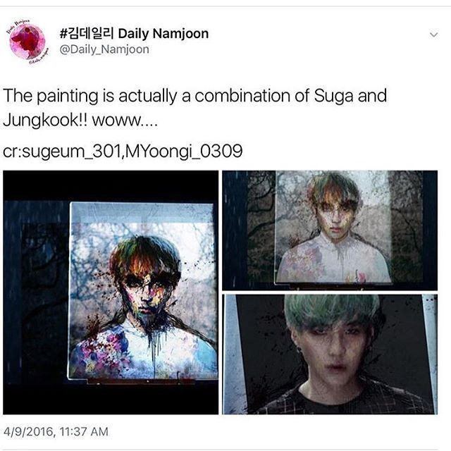 I know Sugakookie is a thing but this........ THIS IS SOME NEXT LEVEL SHHH.. there's so many possibilitys but no conclusions ❤ #BTS #방탄소년단