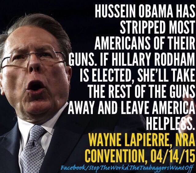 Yep, most Americans have most definitely lost their guns. This is the face of Crazy!