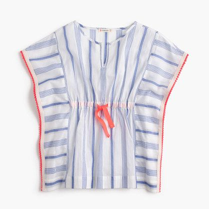 The secret to the perfect vacay? Sun, sand and this flowy, lightweight beach tunic (plus a dolphin sighting or two). <ul><li>Cotton.</li><li>Machine wash.</li><li>Import.</li></ul>