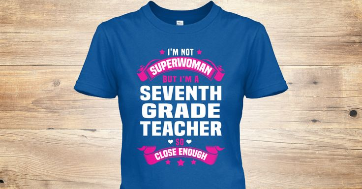 I'm Not Superwoman But I'm A(An) Seventh Grade Teacher So Close Enough.  If You Proud Your Job, This Shirt Makes A Great Gift For You And Your Family.  Ugly Sweater  Seventh Grade Teacher, Xmas  Seventh Grade Teacher Shirts,  Seventh Grade Teacher Xmas T Shirts,  Seventh Grade Teacher Job Shirts,  Seventh Grade Teacher Tees,  Seventh Grade Teacher Hoodies,  Seventh Grade Teacher Ugly Sweaters,  Seventh Grade Teacher Long Sleeve,  Seventh Grade Teacher Funny Shirts,  Seventh Grade Teacher…