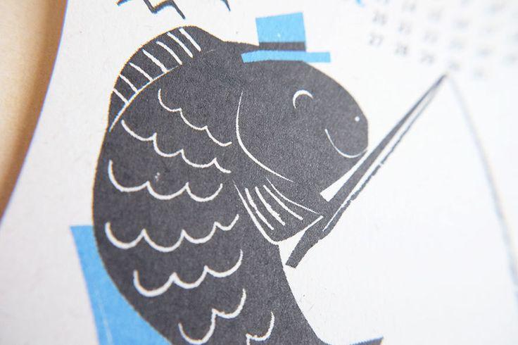 https://flic.kr/p/NKKDa5 | 2017 Calendar by Kyoko Nemoto | Silkscreen print 100mm X 148mm 2017 カレンダー 今年も作りました! aozorastore.tumblr.com サイズ:100mmx 148mm (ポストカードサイズ)  印刷: 孔版印刷 (レトロ印刷) オモテ2色/ウラ1色 紙: 富士わら厚紙 価格: 1200円 (12ヶ月1セットです) お振込: 銀行振込の他、Paypal経由でクレジットカードでもお求めいただけます。カレンダー専用フォームよりご注文後、https://ws.formzu.net/fgen/S66212372 ご確認メールをお送り致します。 送料 郵便局のクリックポスト(全国一律1kgまで168円)でお送りします。 ※銀行お振り込み手数料はご負担頂いております。