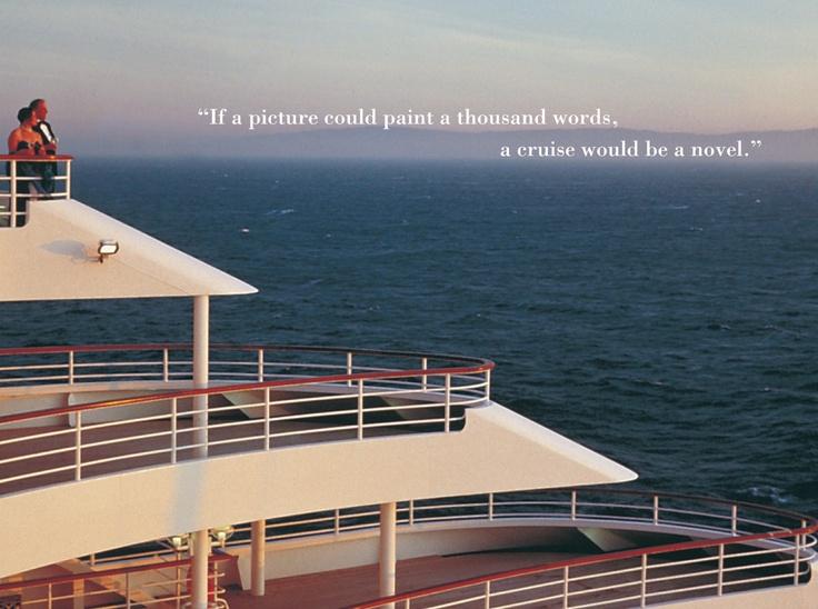 P  O Cruises Ad