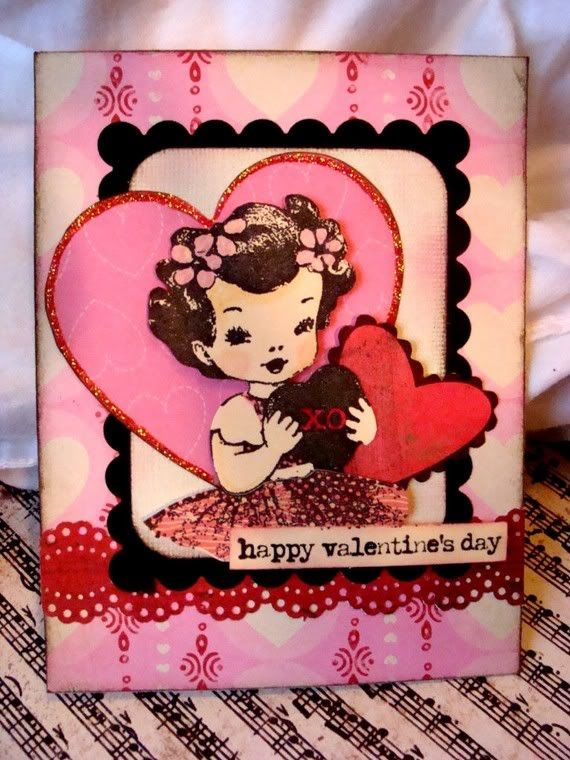 Valentine S Day Vintage Toys : Best images about vintage birthday cards on pinterest