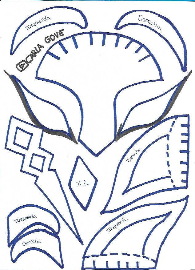 Plantilla Mascara Deriva Fornite Plantilla De Mascara Arbol De La Vida Album Escolar