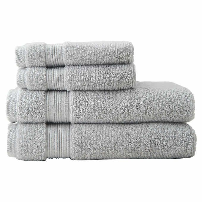Charisma Soft 100 Hygro Cotton 4 Piece Bath Towel Set With Images Towel Set Towel Bath Towel Sets