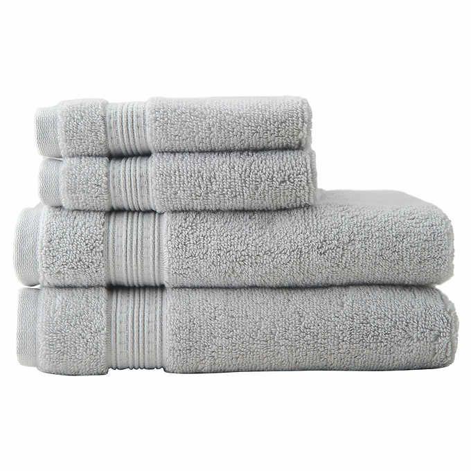 Charisma Soft 100 Hygro Cotton 4 Piece Bath Towel Set Towel Set
