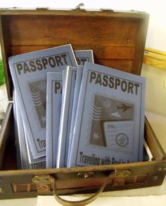 Bible Fun For Kids: Acts Passports