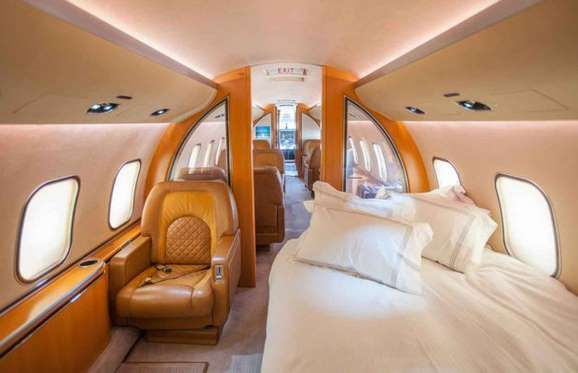 Boeing 767-33A/ER Private Jet: $170 million (£117m): The jet also features several stylish gue... - Boeing