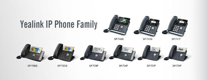 Yealink IP Phone Family http://jomar.cc/yealink