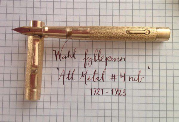 Bilderesultat for knekt fyllepenn