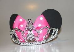 Minnie Mouse Princess Tiara Minnie Mouse by SweetberryBoutique, $16.00
