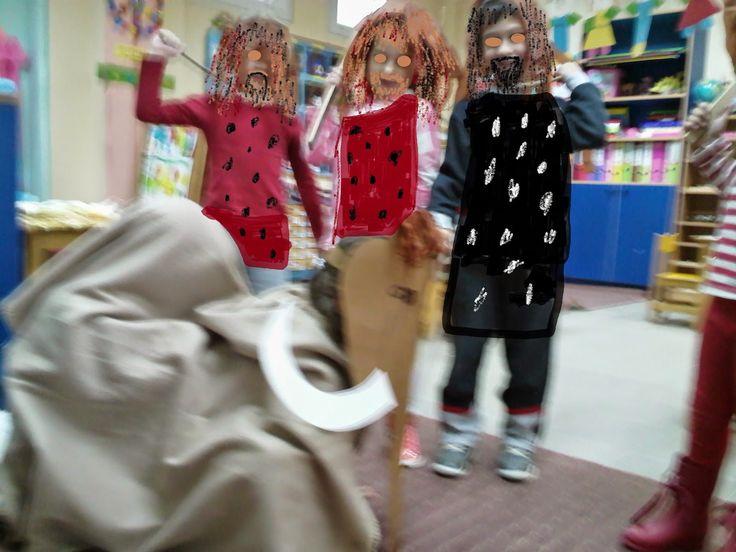 Νηπιαγωγείο με Φαντασία: Σήμερα το μενού έχει: ψητό μαμούθ