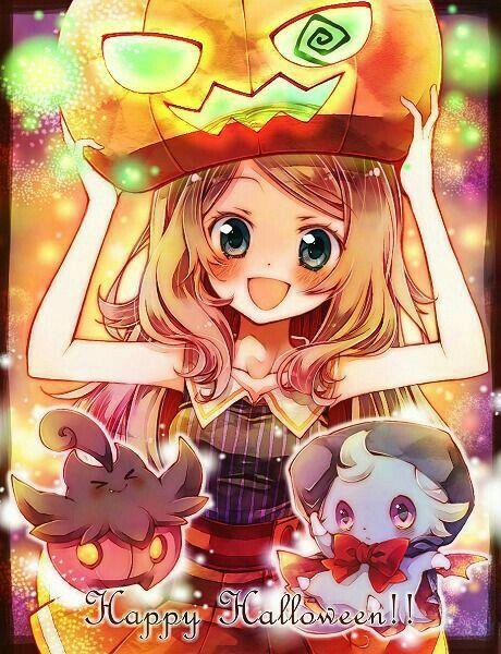 Pokemon XY Serena Happy Halloween!