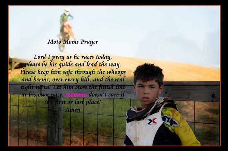 Moto cross prayer