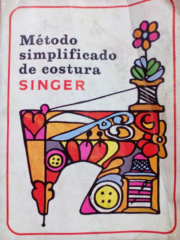 E aqui está mais um livro de costura para juntar à nossa galeria de livros de costura aqui no blog.   Desta vez, é um antigo livro de costur...