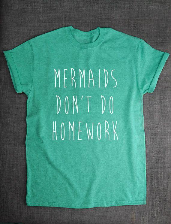 Meerjungfrau-Shirt  nicht Meerjungfrauen von ResilienceStreetwear
