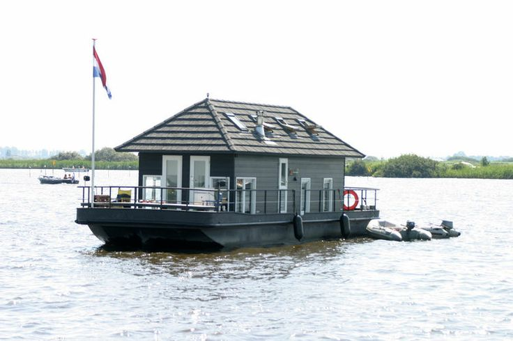 Cute house boat in the #Netherlands