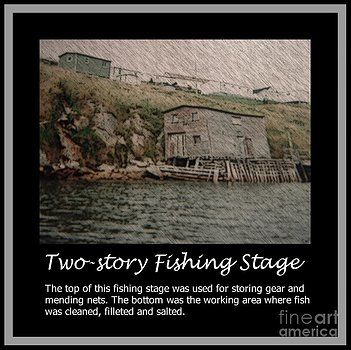 Barbara Griffin - Two-Story Fishing Stage