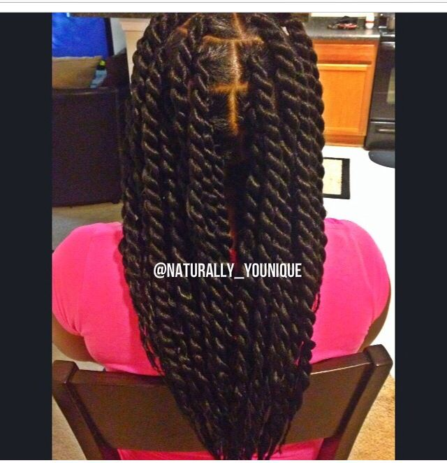Havana twists protective hairstyle