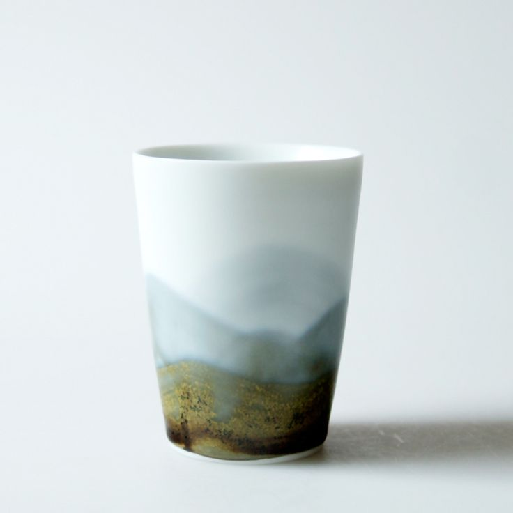 China Craft Collection Oriental Distant Mountains Drawing Handcrafted Ceramic Cup Chahai Kongfu Tea Cup Porcelain Jingdezhen-in Cups & Saucers from Home & Garden on Aliexpress.com | Alibaba Group