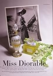 Miss Dior ad from Perfume Shrine: The Dior Chypres series ~Miss Dior: fragrance review