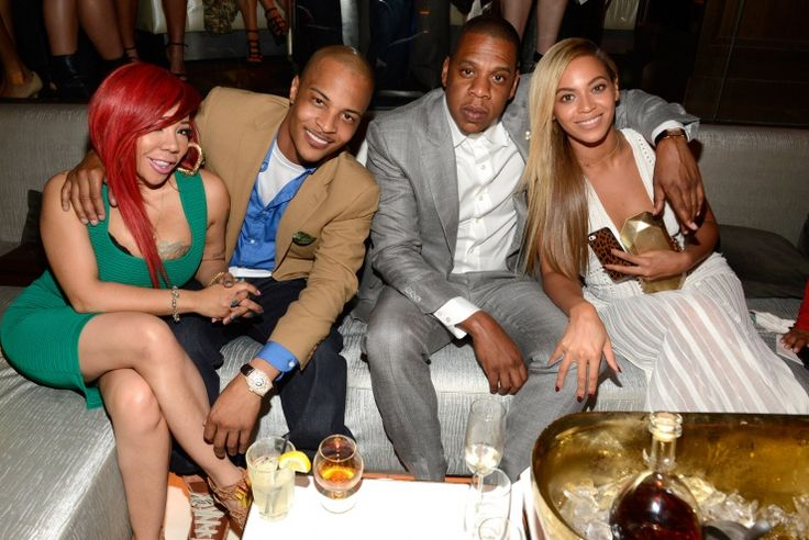 Tiny, T.I., Jay-Z, And Beyoncé | GRAMMY.comBeyonce Double, Photos, 10 Years Anniversaries, June 17, Tiny Celebrities, Jay Z, Beyonce Couples, 40 40 Club, Jayz Beyonce
